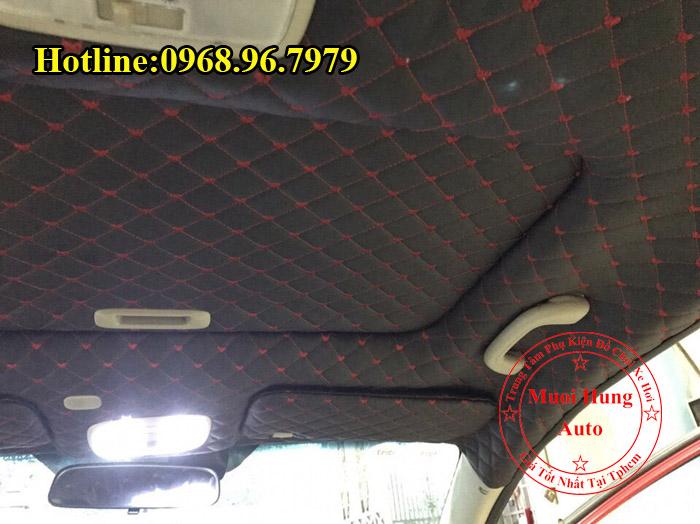 Bọc Trần Da 5D Toyota Vios Tại Tphcm