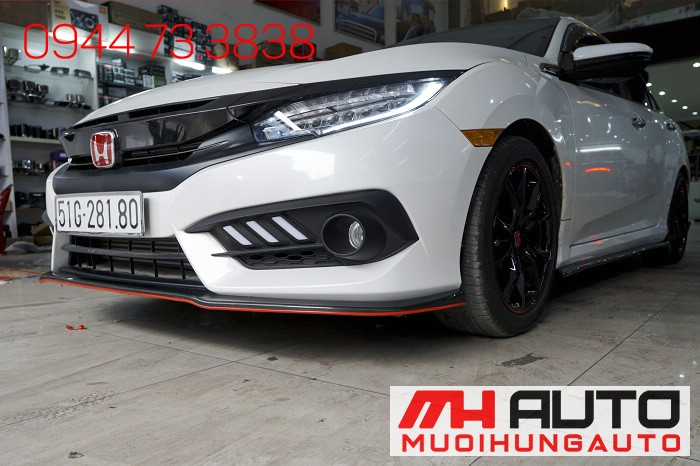 Body Kit Carbon Honda Civic Tại Tphcm