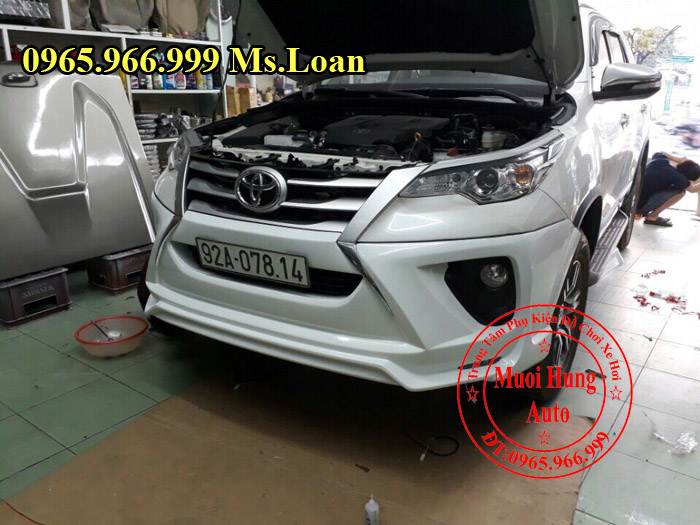 Body Kit Cao Cấp Xe Toyota Fortuner 2017 01