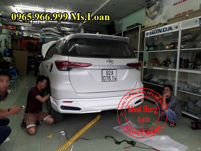 Body Kit Cao Cấp Xe Toyota Fortuner 2017 04