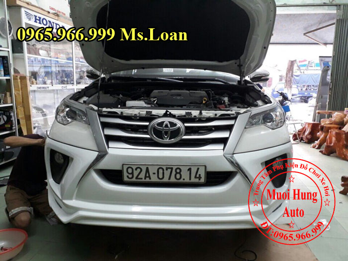 Body Kit Cao Cấp Xe Toyota Fortuner 2017