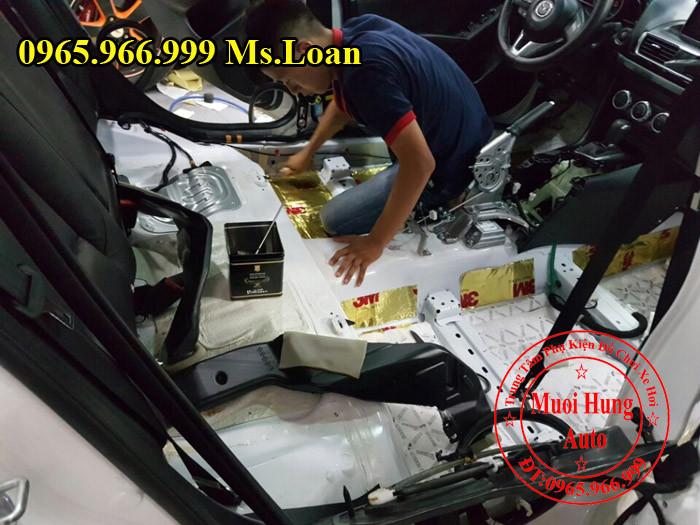 Cách Âm 3M Chính Hãng Xe Mazda 3