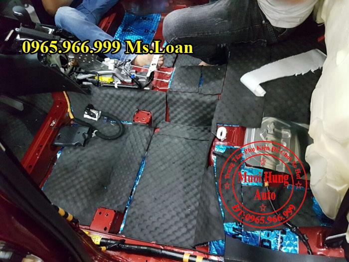 Cách Âm Chống Ồn D-Max Cho Xe Mazda 3 04