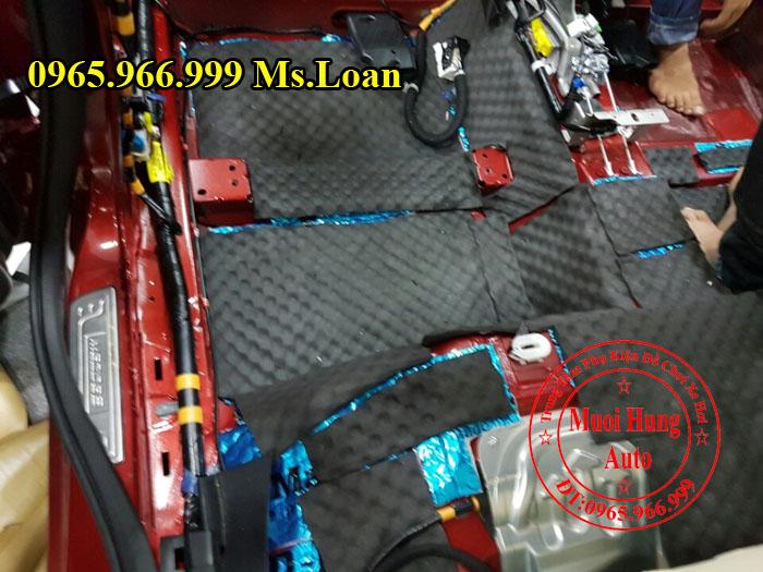 Cách Âm Chống Ồn D-Max Cho Xe Mazda 3 05