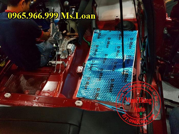 Cách Âm Chống Ồn D-Max Cho Xe Mazda 3