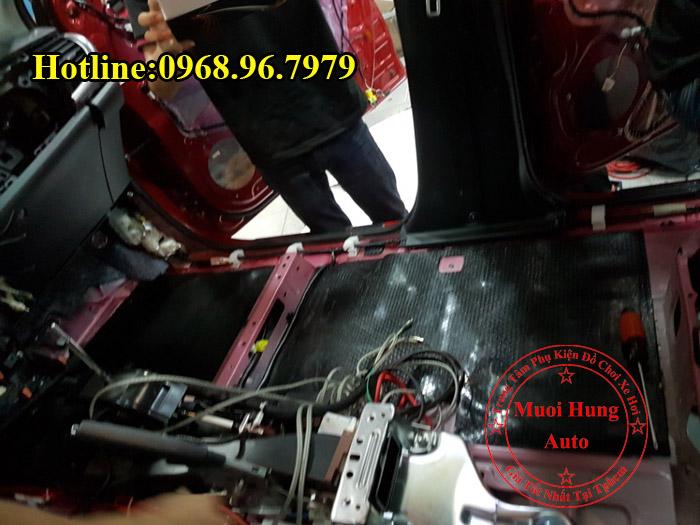 Cách Âm Chống Ồn Toyota Hilux Tại Tphcm 03