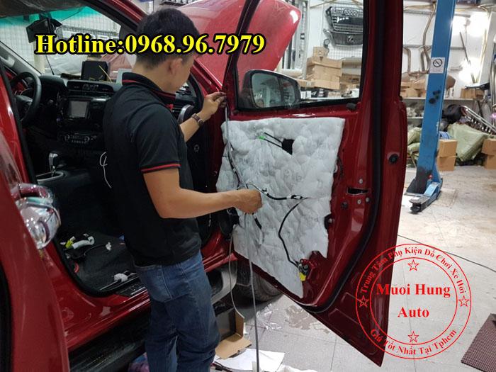 Cách Âm Chống Ồn Toyota Hilux Tại Tphcm