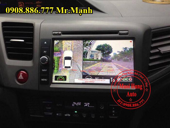 Camera 360 Độ Chính Hãng Honda City 2016 02
