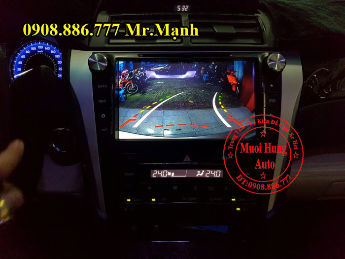 Camera De, Lùi Cho Xe Toyota Camry 01