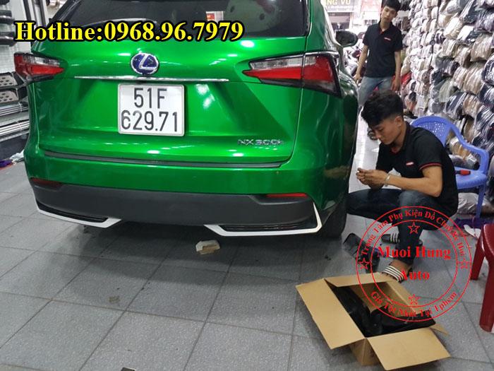 Chắn Bùn Lexus NX300T Cao Cấp Giá Rẻ 02