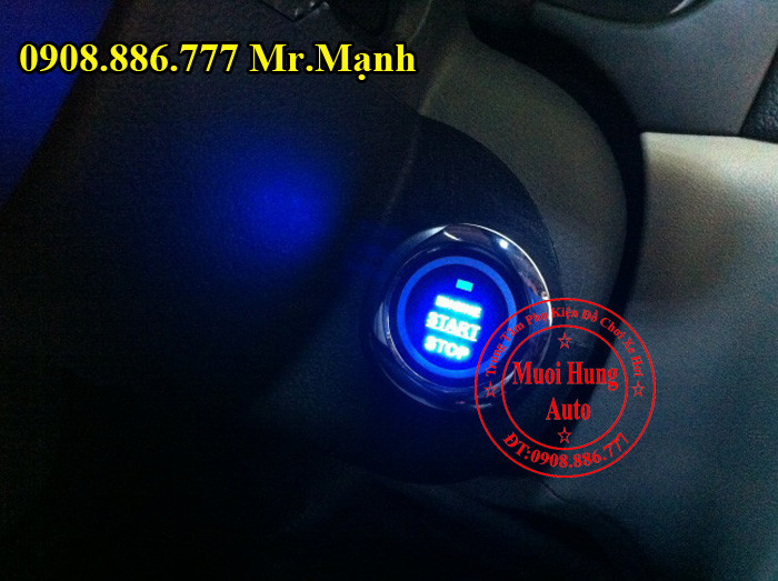 Chìa Khóa Start Stop Smartkey Ford Everest 03