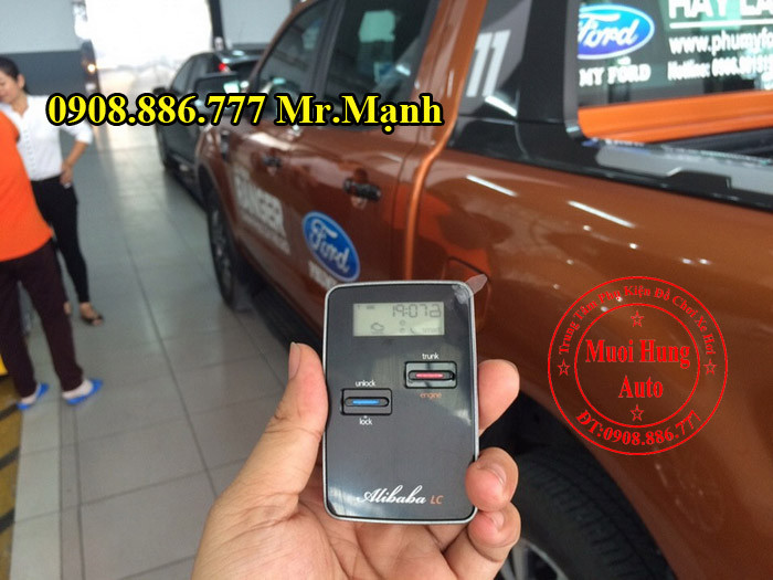 Chìa Khóa Start Stop Smartkey Ford Everest 06