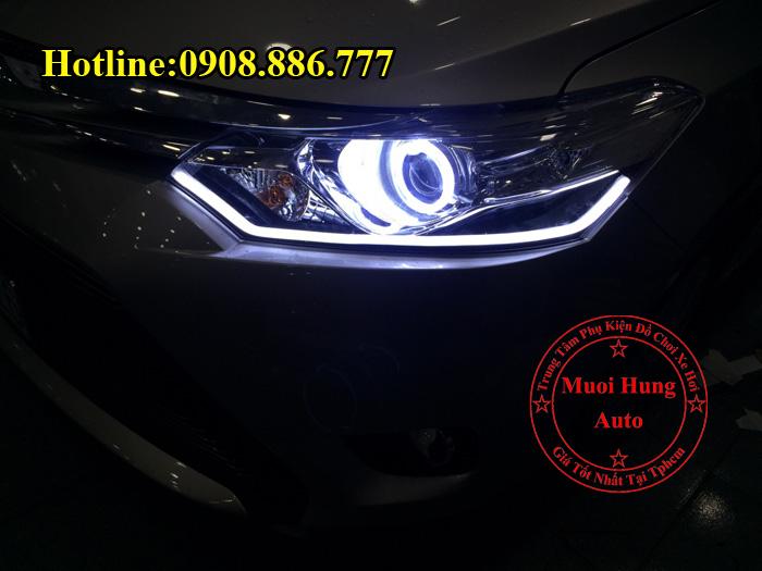 Chuyên Độ Đèn Led Toyota Vios 2016, 2017
