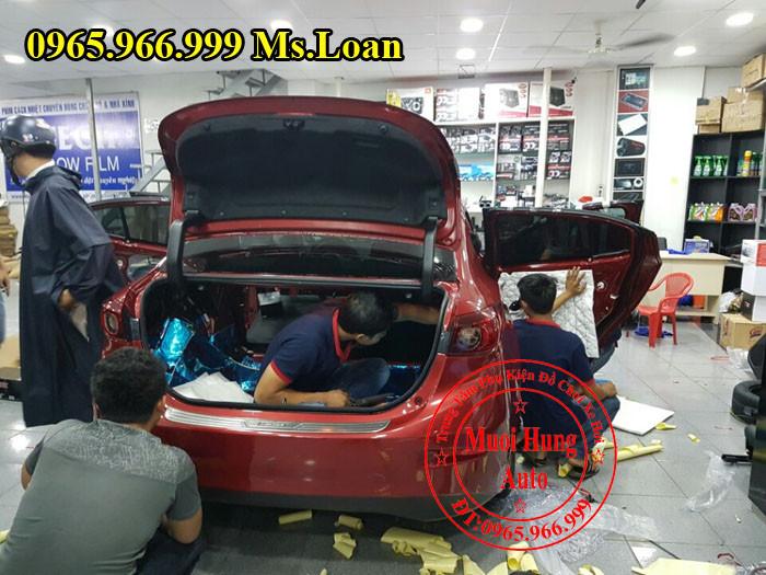Dán Cách Âm 3M Chính Hãng Cho Mazda 3 02