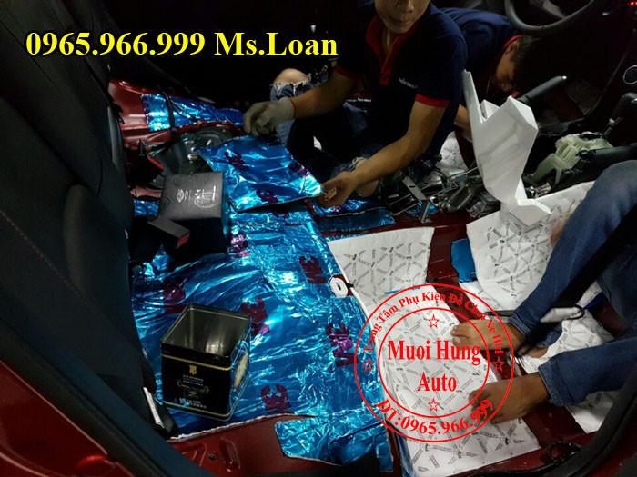 Dán Cách Âm 3M Chính Hãng Cho Mazda 3 04