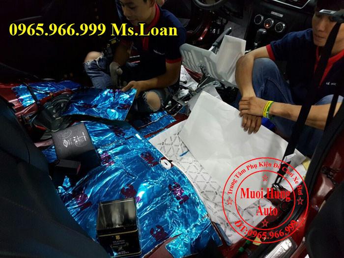 Dán Cách Âm 3M Chính Hãng Cho Mazda 3 05