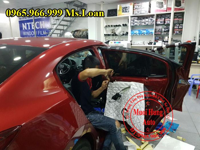 Dán Cách Âm 3M Chính Hãng Cho Mazda 3