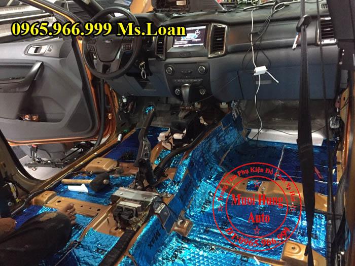 Dán Cách Âm Chống Ồn D-Max Xe Ford Ranger 02