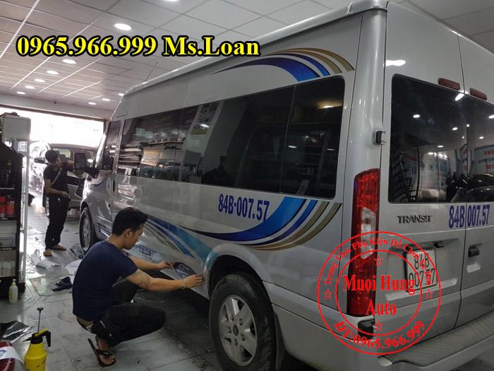 Dán Tem Cho Xe Ford Transit Tại Tphcm 01