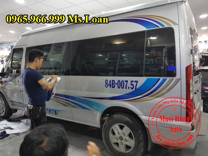 Dán Tem Cho Xe Ford Transit Tại Tphcm 02