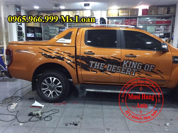 Dán Decal Xe Ford Ranger Wildtrak Tại Tphcm 01