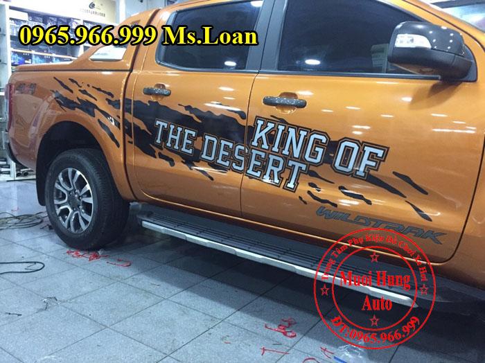 Dán Decal Xe Ford Ranger Wildtrak Tại Tphcm