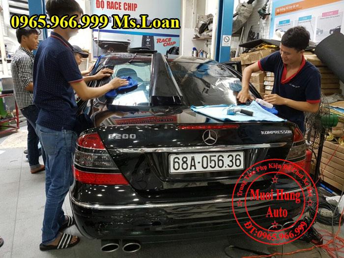 Dán Phim 3M Chính Hãng Xe Mercedes E200 02