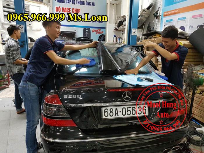 Dán Phim 3M Chính Hãng Xe Mercedes E200