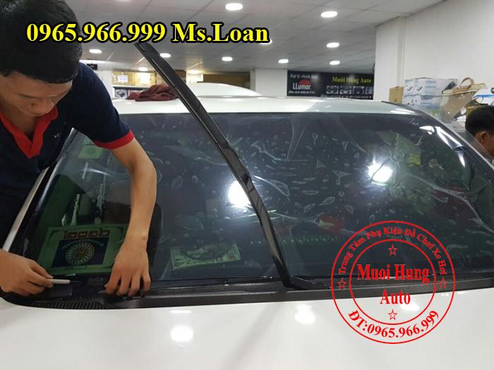 Dán Phim Cách Nhiệt 3M Xe Audi Q3 03