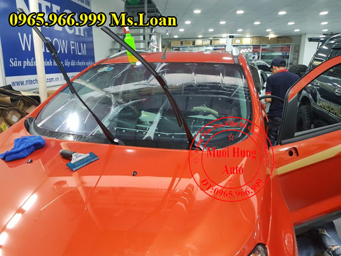 Dán Phim Cách Nhiệt 3M Cho Ford Ecosport 04