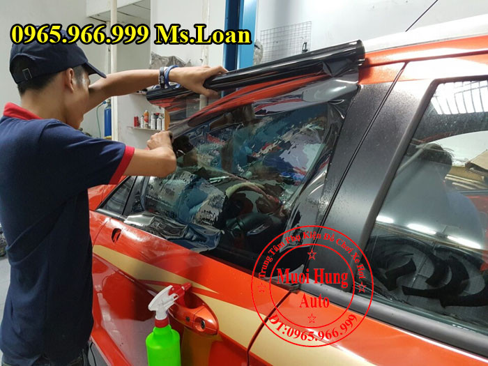 Dán Phim Cách Nhiệt 3M Cho Ford Ecosport 05