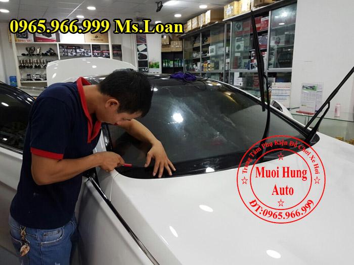 Dán Phim Cách Nhiệt 3M Cho Mazda 3