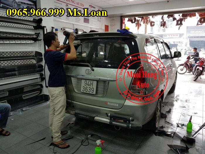 Dán Phim Cách Nhiệt 3M Cho Toyota Innova