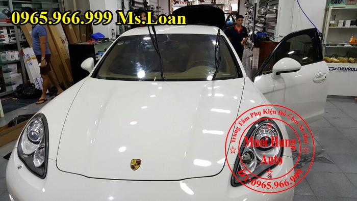 Dán Phim cách Nhiệt 3M Cho Xe Porsche