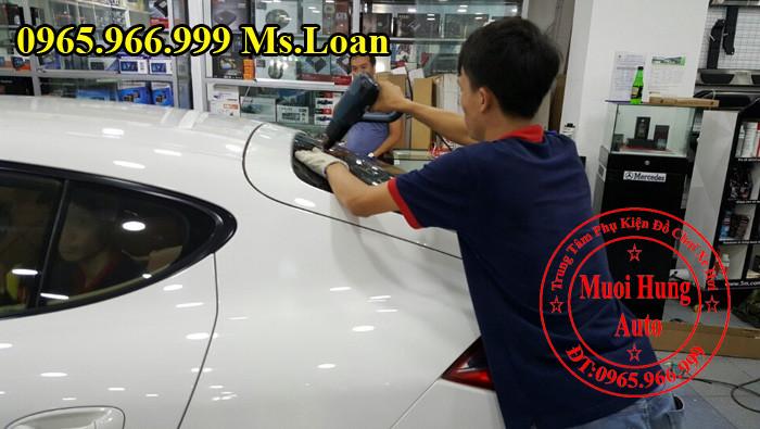 Dán Phim cách Nhiệt 3M Cho Xe Porsche 03