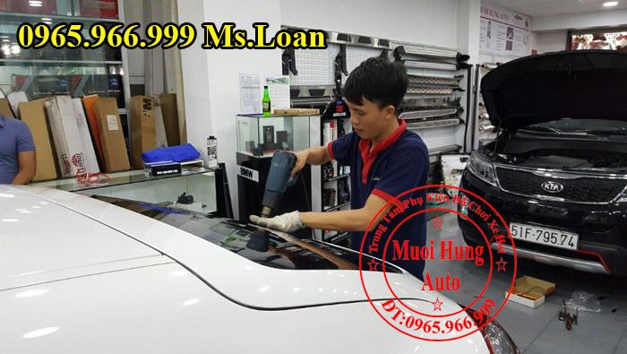 Dán Phim cách Nhiệt 3M Cho Xe Porsche 01