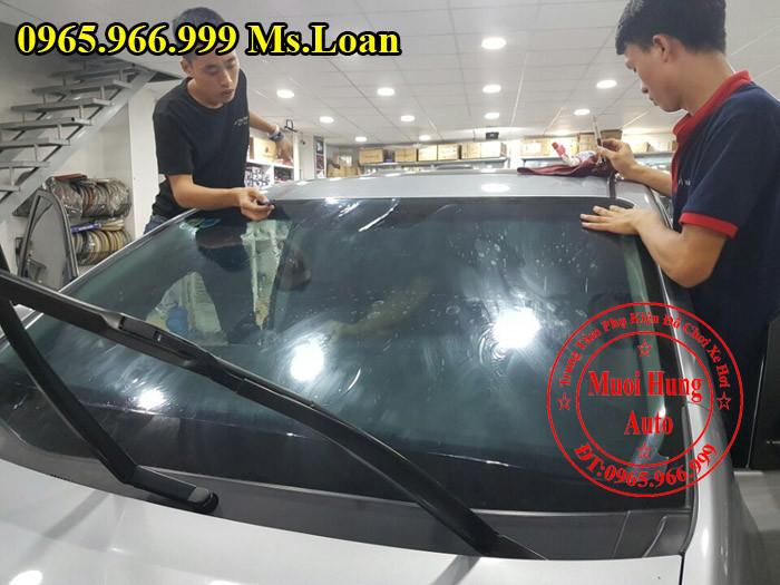 Dán Phim Cách Nhiệt 3M Xe Toyota Sienna