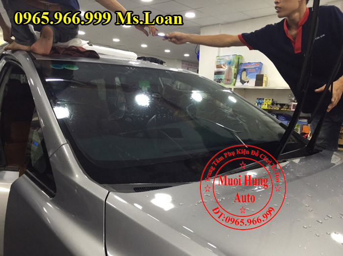 Phim Cách Nhiệt Chính Hãng Cho Hyundai Sonata 08