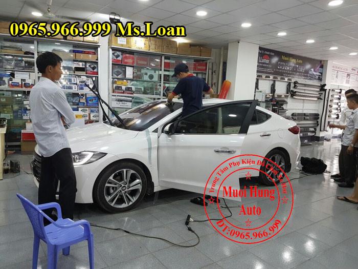 Phim Cách Nhiệt Chính Hãng Cho Hyundai Elantra 02