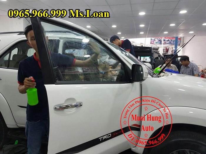 Dán Phim Cách Nhiệt Cho Toyota Fortuner