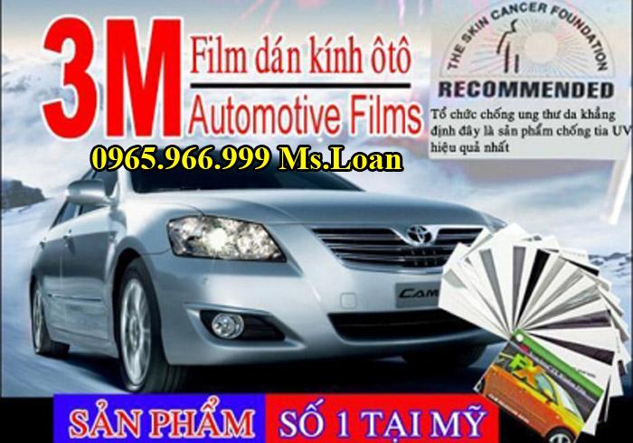 Phim Cách Nhiệt Chính Hãng Cho Toyota Camry
