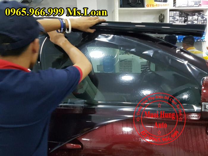 Dán Phim Cách Nhiệt Llumar Xe Audi A4 03
