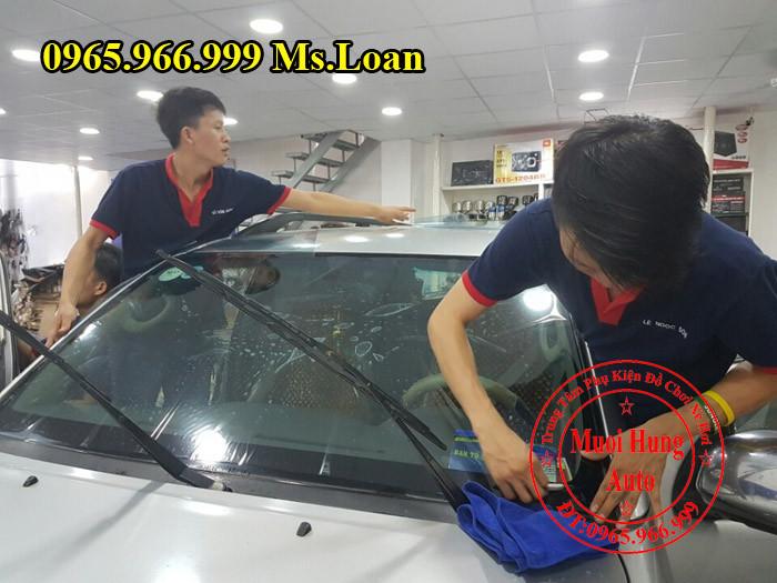 Dán Phim Cách Nhiệt Llumar Xe Honda Accord 03