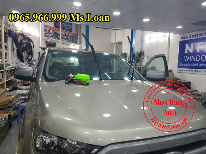 Dán Phim Cách Nhiệt Llumar Ford Ranger 2016 01