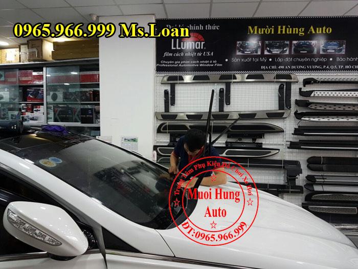 Dán Phim Cách Nhiệt NTech Xe Hyundai Sonata 04