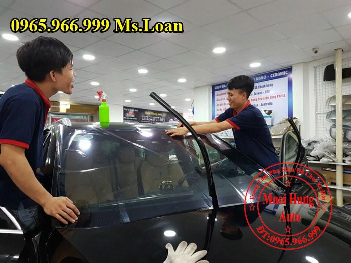 Dán Phim Cách Nhiệt Xe Mercedes C200, C300