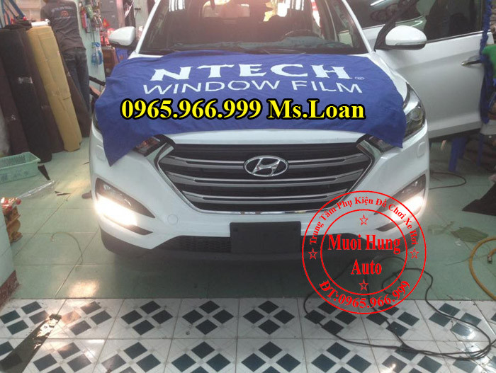 Dán Phim Chính Hãng Xe Hyundai Santafe 05