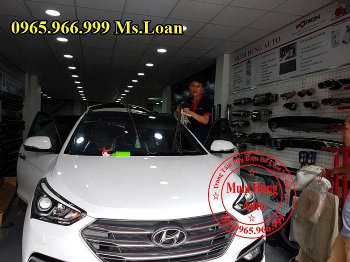 Dán Phim Chính Hãng Xe Hyundai Santafe