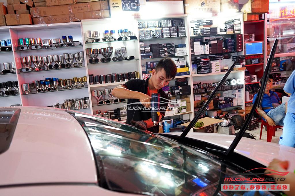 Dán phim chống nóng Llumar Hyundai Elantra Chính hãng 08