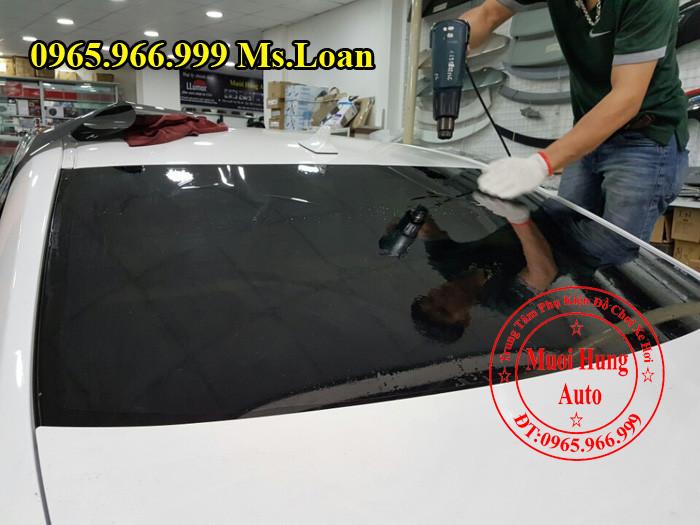 Dán Phim Cách Nhiệt Llumar Xe Audi Q3 03